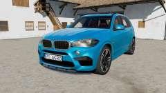 BMW X5 M (F85) 201ⴝ para Farming Simulator 2017