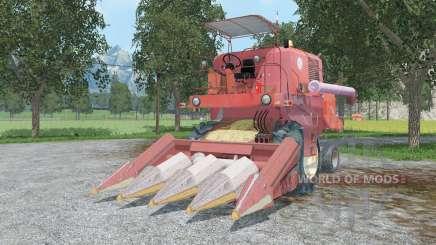 Bizon Super Z0ⴝ6 para Farming Simulator 2015