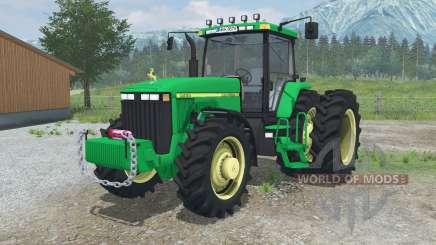 A John Deere 8Ꝝ00 para Farming Simulator 2013