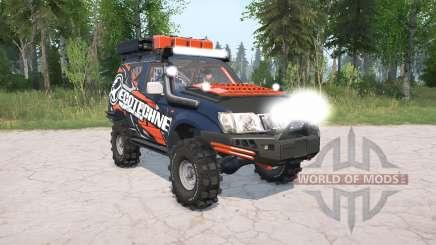 Toyota Land Cruiser Prado 5-door (J95W) lifted para MudRunner