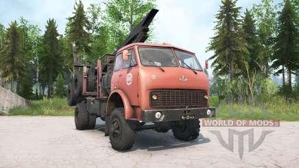 MAZ-509А para MudRunner
