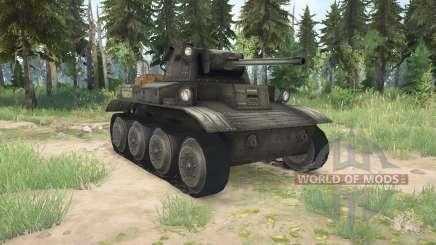 Light Tank Mk.VII (A17) Tetrarch para MudRunner