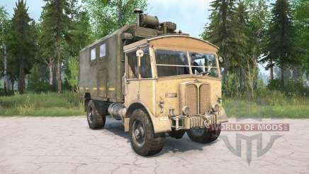 AEC Matador 853 para MudRunner