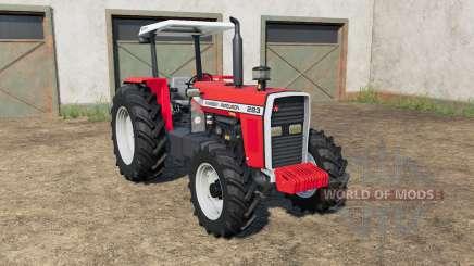 Massey Ferguson 283〡290〡297〡299 para Farming Simulator 2017