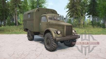 O GAZ-63 para MudRunner