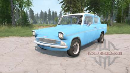 Ford Anglia Deluxe (105E) 1959 para MudRunner