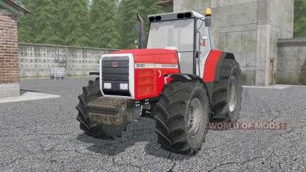 Massey Ferguson 81ꝝ0 para Farming Simulator 2017