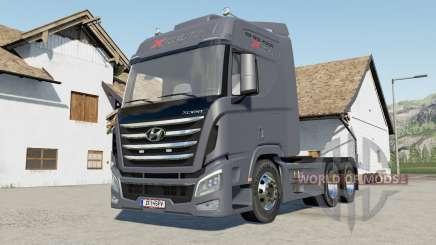 Hyundai Trago Xcient 2013 para Farming Simulator 2017