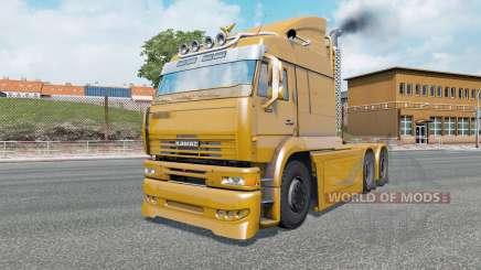 KamAZ-6460 Turbo Dieseɫ para Euro Truck Simulator 2