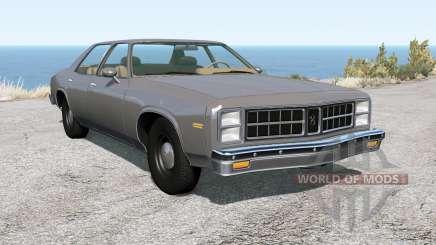 Bruckell Moonhawk sedan para BeamNG Drive