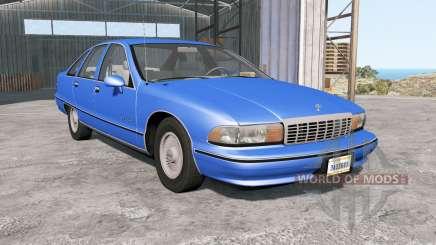Chevrolet Caprice Classic 1991 para BeamNG Drive