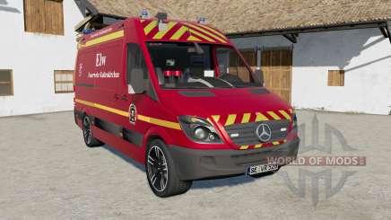 Mercedes-Benz Sprinter (Br.906) Feuerwehr para Farming Simulator 2017