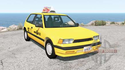 Ibishu Covet New York Taxi para BeamNG Drive