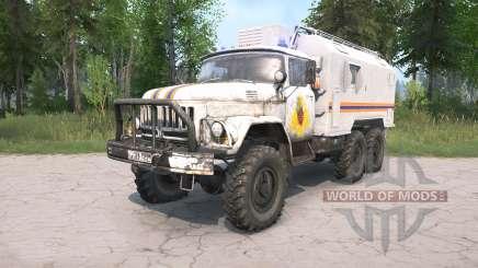 ZIL-131 EMERCOM da Rússia para MudRunner