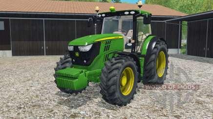John Deere 6170R & 6210R para Farming Simulator 2015
