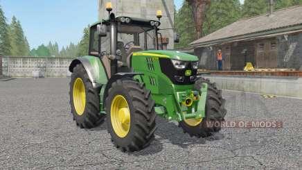 A John Deere 6115M〡6135M〡6155M para Farming Simulator 2017