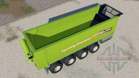 Peecon Cargo 92000 para Farming Simulator 2017