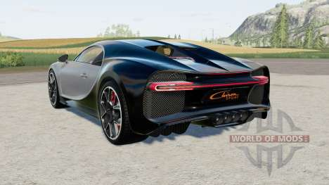 Bugatti Chiron Sport para Farming Simulator 2017