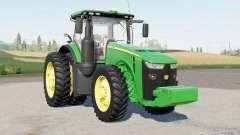 A John Deere 8R-seriᶒs para Farming Simulator 2017
