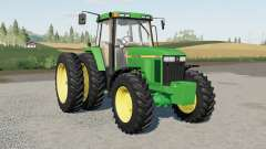 A John Deere 7600〡7610〡7700〡7710〡7800〡7৪10 para Farming Simulator 2017