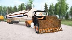 Mack R600 The Tanker para MudRunner