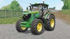A John Deere 6R-serieᶊ para Farming Simulator 2017
