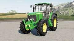A John Deere, 6020-serieᵴ para Farming Simulator 2017