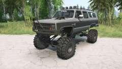 Chevrolet Suburban 1988 lifted para MudRunner