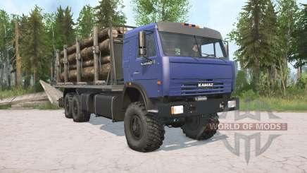 KamAZ-43118 para MudRunner