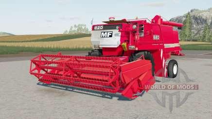 Massey Ferguson 6Ձ0 para Farming Simulator 2017