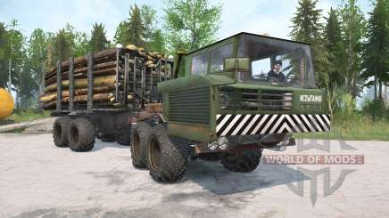 KrAZ-6434 para MudRunner