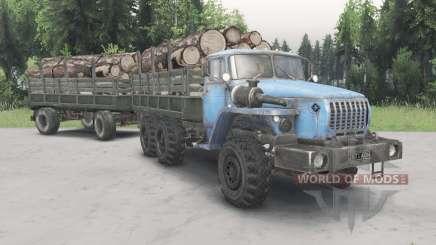 Ural-43Ձ0-10 para Spin Tires