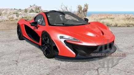 McLaren P1 2014 para BeamNG Drive