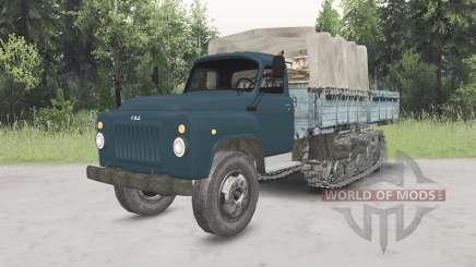 GAZ-53 meia-pista para Spin Tires