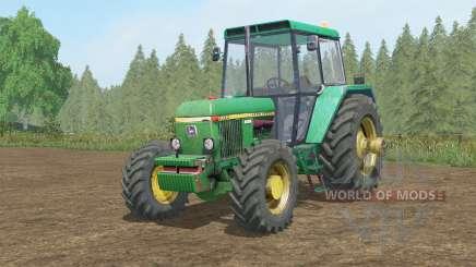 A John Deere 30ろ0 para Farming Simulator 2017