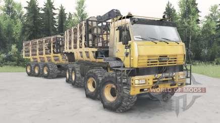 KamAZ-6560 Polar para Spin Tires