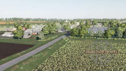 A aldeia de Berry v2.3 para Farming Simulator 2017