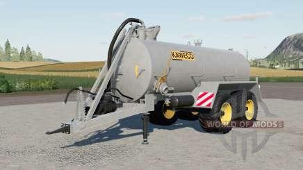 Kaweco Slurry Tanker v1.0.0.4 para Farming Simulator 2017