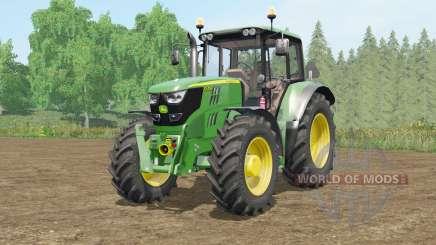 A John Deere 6115M〡6135M〡6155Ɱ para Farming Simulator 2017