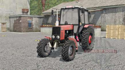 MTZ-82.1 Bielorrússia para Farming Simulator 2017