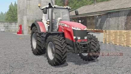 Massey Ferguson 8727〡8732〡87ვ7 para Farming Simulator 2017