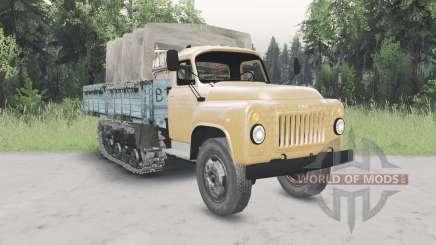 GAZ-53 meia-pista v2.0 para Spin Tires