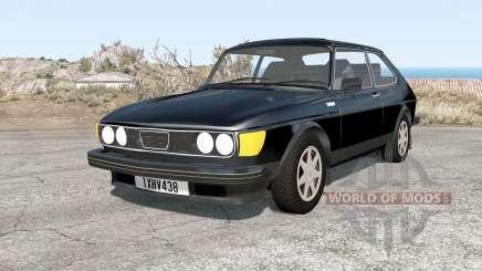Saab 99 Turbo combi coupé de 1978 para BeamNG Drive