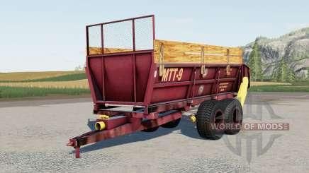 MTT-9 para Farming Simulator 2017