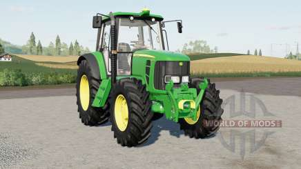 John Deere 6030-series para Farming Simulator 2017