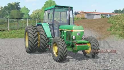 A John Deere 30ვ0 para Farming Simulator 2017
