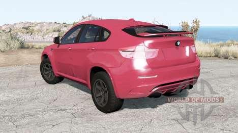 BMW X6 M (E71) 2010 para BeamNG Drive