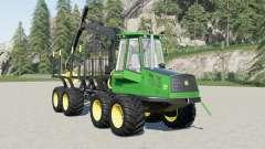 John Deere 1110D Eco III v1.1 para Farming Simulator 2017