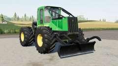 John Deere 540G-III para Farming Simulator 2017