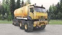 KamAZ-6560 Polar v1.2 para Spin Tires